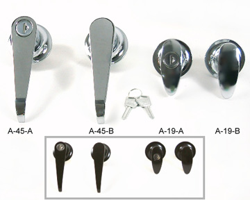 【A-45/A-19】Round Barrel Handles  |Knob & Handle Locks