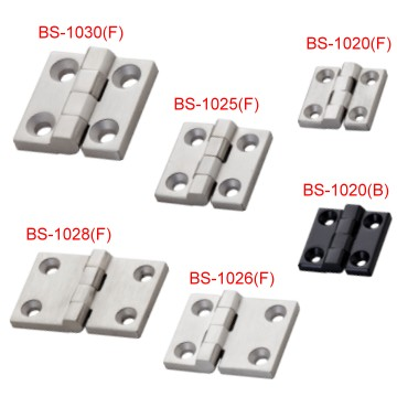 【BS-1020、25、26、28、30】Stainless Butt Hinges For Heavy-duty Use  |Door Hinges