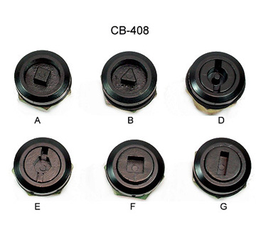 【CB-408】Small Rod Locks  |Locks